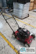 "21"" TORO GAS POWERED WALK BEHIND LAWNMOWER; 6 HP"