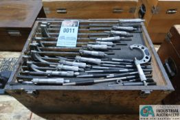 "(12 PIECES) PHASE II 1"" - 12"" MICROMETER SET"