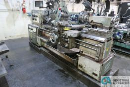 "24"" X 60"" DAINICHI MODEL DLG-SH HEAVY DUTY GEARED HEAD ENGINE LATHE; S/N 18543, 63 X 150 CAPACITY,"