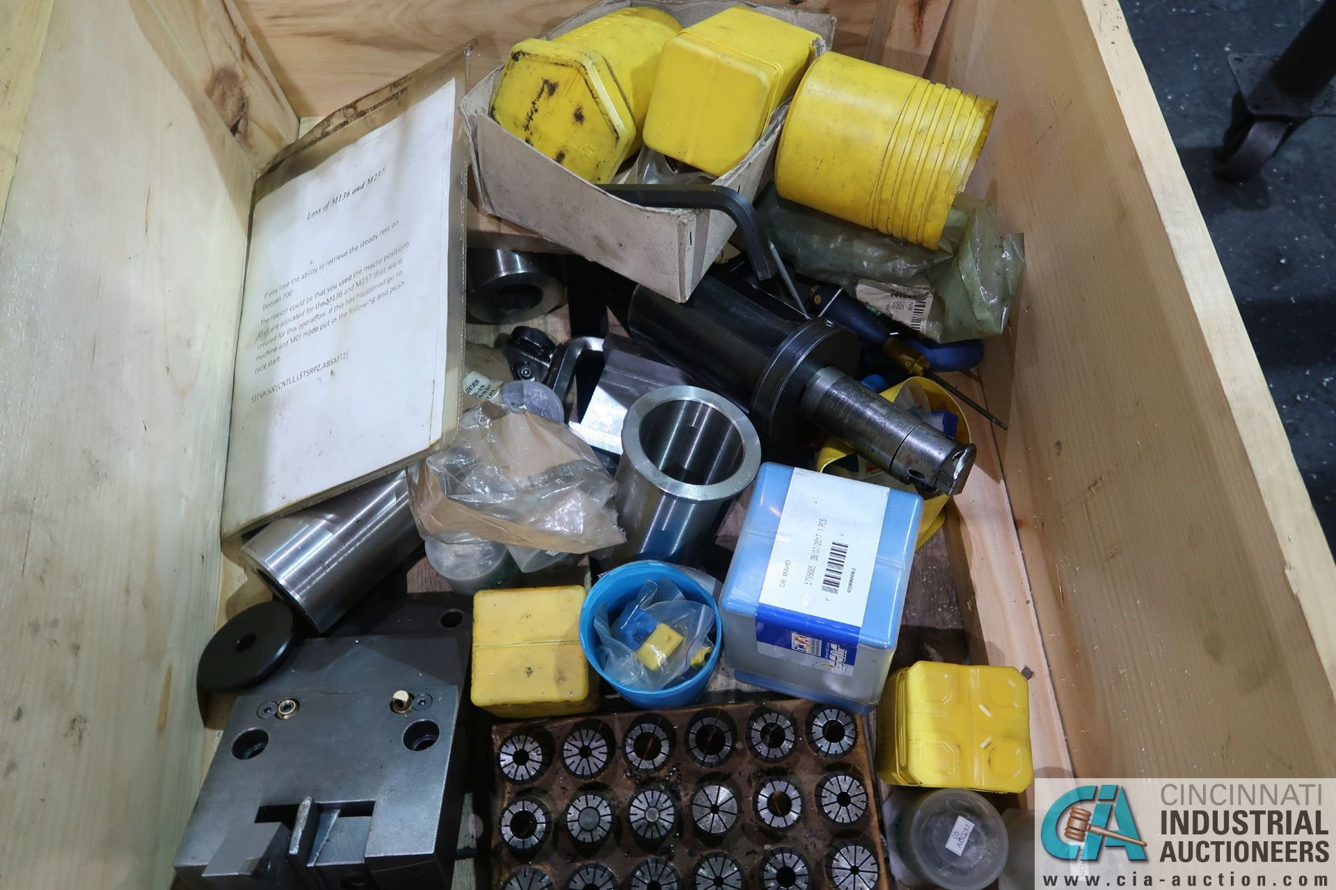 CRATE MISCELLANEOUS TOOLING AND TOOLHOLDERS - Image 3 of 3