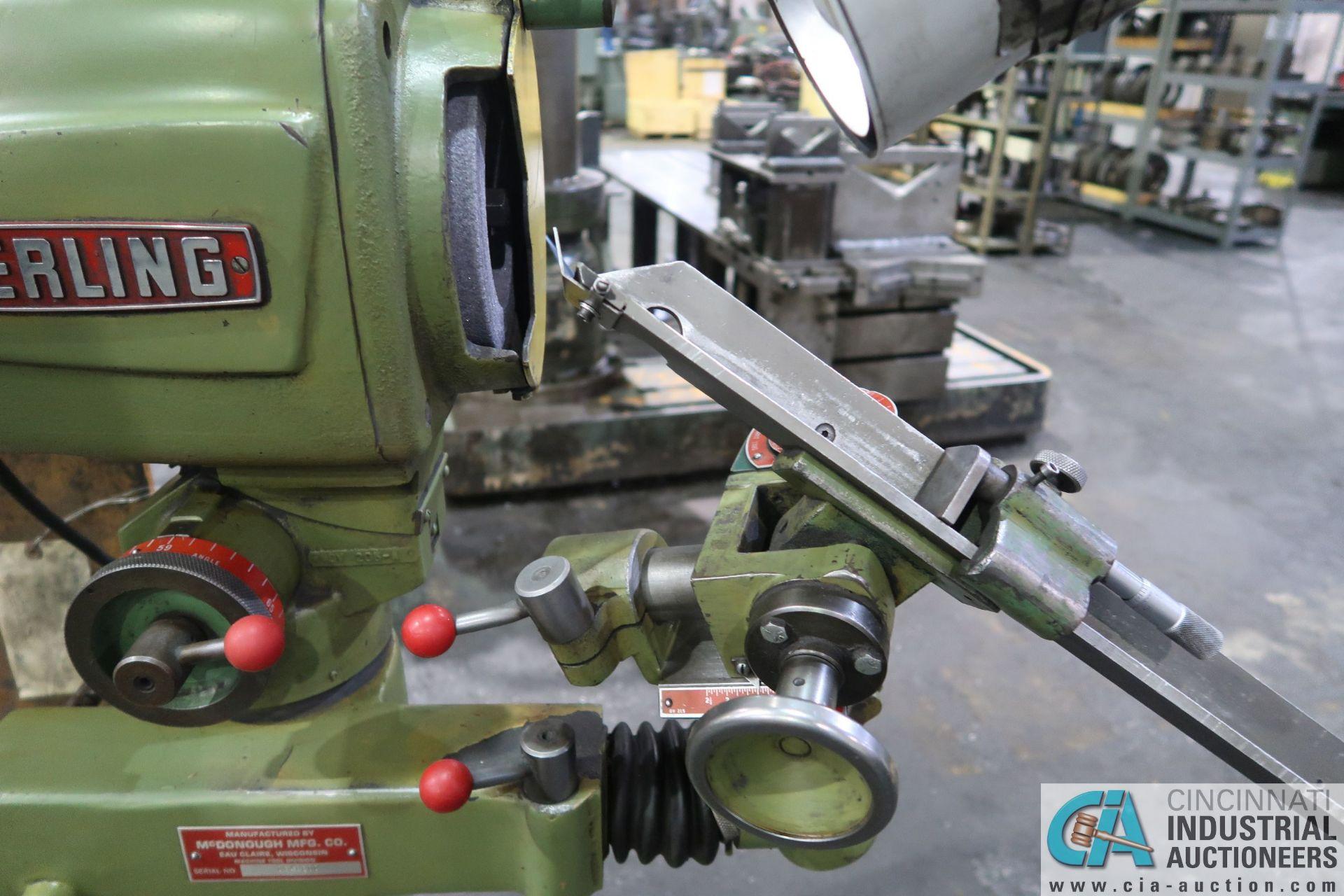 STERLING PEDESTAL DRILL SHARPENER; S/N DG40600 - Image 4 of 5