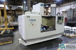 MILLTRONICS MODEL VM30 VERTICAL MACHINING CENTER; S/N 5571, (20) POSITION TOOL CHANGE HOLDER, CAT 40