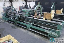 "30"" X 160"" KINGSTON MODEL HR-4000 HEAVY DUTY GEARED HEAD ENGINE LATHE; S/N 048702276, 20 HP,"