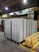 Qty. 20 6-Compartment Locker Units