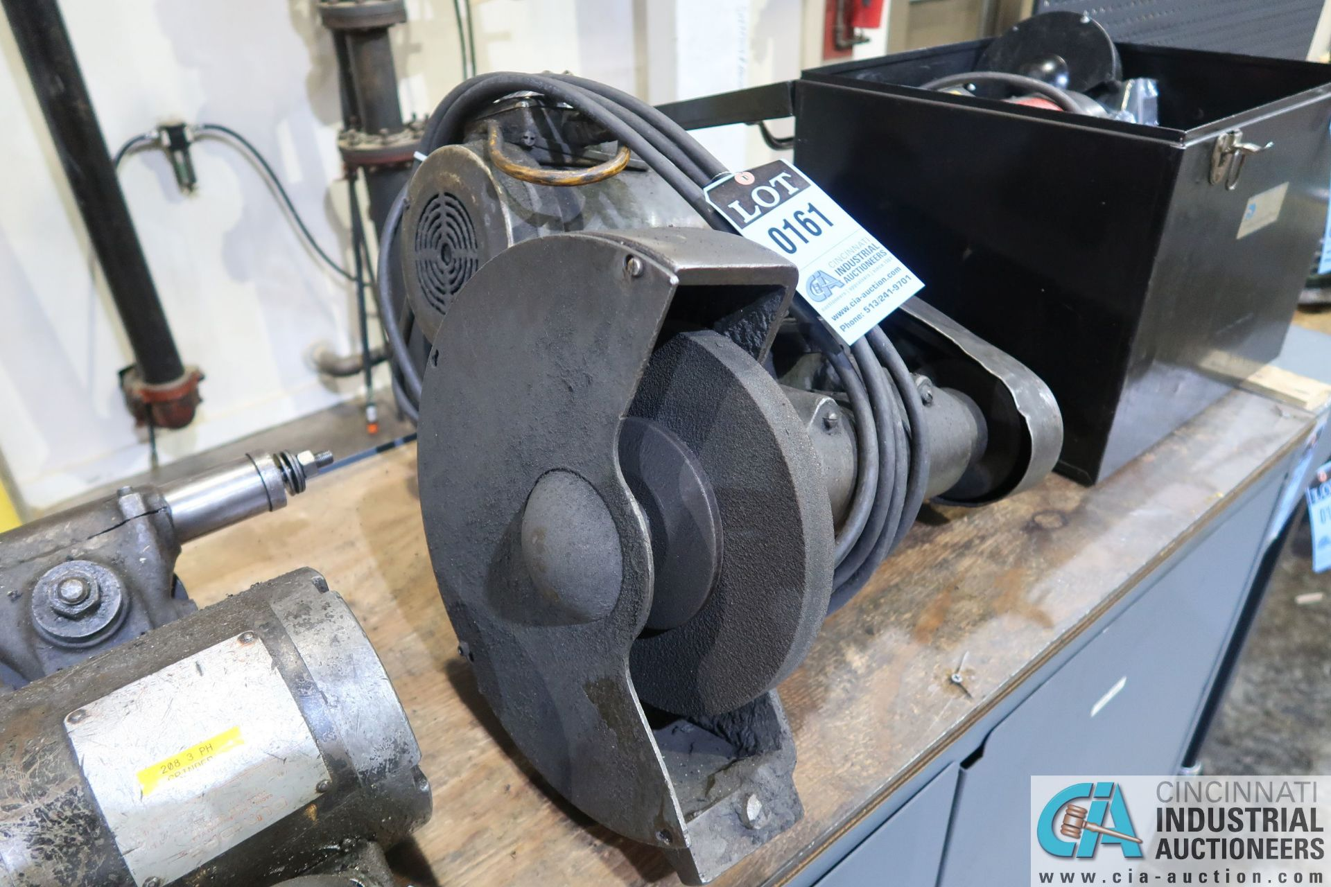 3 HP MAKE AND MODEL UNKNOWN TOOL POST GRINDER