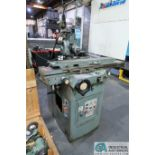 CINCINNATI TYPE MT TOOL GRINDER; S/N 1D2F1ABF-15, WITH (1) WOOD CRATE MISCELLANEOUS FIXTURES (NEW