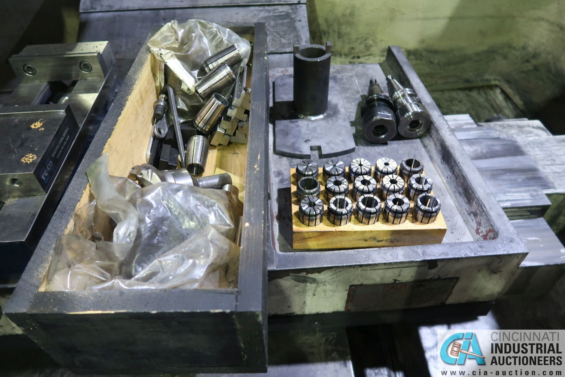 """6"""" TE-CO PRECISION MILL VISE - Image 2 of 3"""