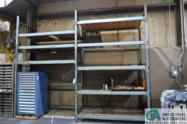 """SECTIONS 40"""" X 84"""" X 12' HIGH ADJUSTABLE BEAM PALLET RACK"""