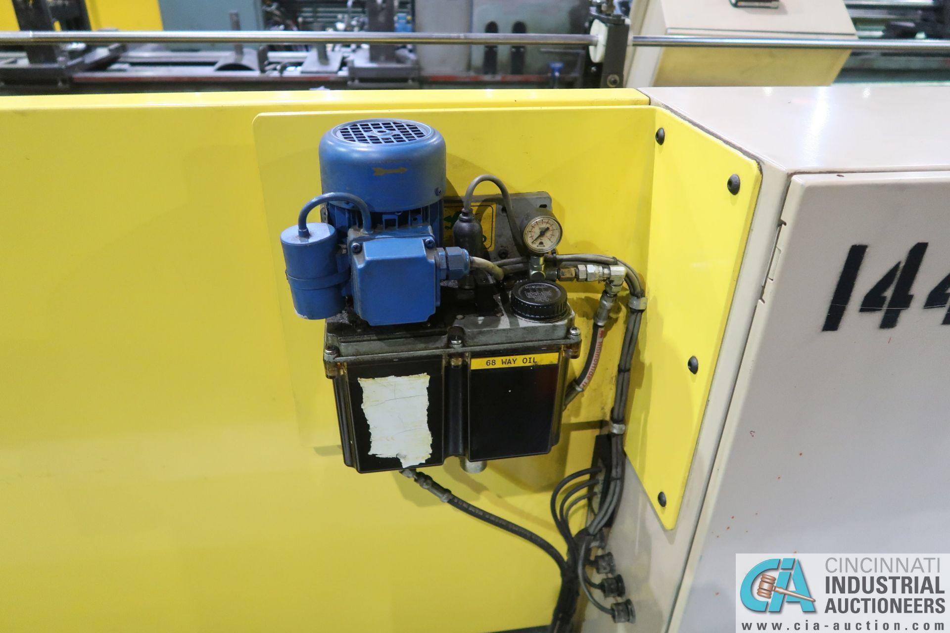 OHIO TOOL MODEL OTW-1000-5-2M PROGRAMMABLE HORIZONTAL HONE; S/N 22945, 6.5' STROKE, 5 HP DRIVE ( - Image 18 of 20