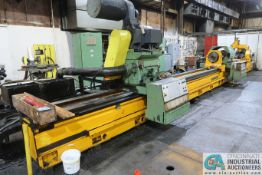 "WOHLENBERG MODEL B800T COUNTER ROTATING DEEP HOLE BORING LATHE; S/N D4185, 1-1/2"" - 6"" CAPACITY, 34'"