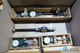 MISCELLANEOUS SIZE DIAL BORE GAGES