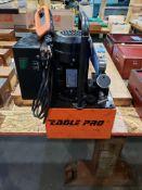 10,000 LB. PSI EAGLE PRO MODEL EPB-171A ELECTRIC HYDRAULIC PUMP WITH (2) HEAVY DUTY HYDRAULIC BOTTLE