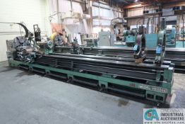 "34"" X 240"" KINGSTON MODEL HR-6000 HEAVY DUTY ENGINE LATHE; S/N 6M9509285, 5"" BORE, 20 HP,"