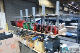 """30"""" ARMS X 12' WIDE X 96"""" HIGH MECO SINGLE SIDED CANTILEVER RACK, (15) ARMS TOTAL **DELAY"""