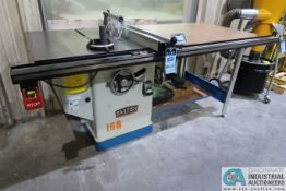 """12"""" BAILEIGH MODEL TS-1248P-52 PROGRAMMABLE TABLE SAW; S/N 180793 (NEW 6-2018) SINGLE PHASE, 220"""