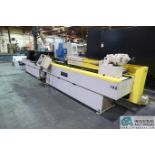 OHIO TOOL MODEL OTW-1000-5-2M PROGRAMMABLE HORIZONTAL HONE; S/N 22945, 6.5' STROKE, 5 HP DRIVE (