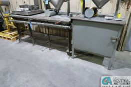 HEAVY DUTY STEEL BENCH AND CABINET **DELAY REMOVAL**
