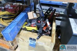 WOOD CRATE MISCELLANEOUS SHOP HAND TOOLS