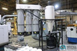ONEIDA TRIPLE FILTER BOTTOM DISCHARGE DUST COLLECTOR SYSTEM