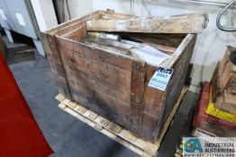 CRATE MISCELLANEOUS WELDING AND BRAZING RODS