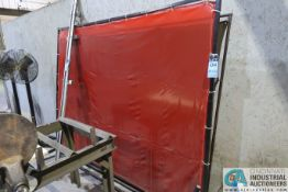 SECTIONS QUICK FRAME WELDING CURTAINS