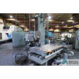 LUCAS MODEL 30-DCP76 CNC HORIZONTAL BORING MILL; S/N 30DC0510, 5' X 7' TABLE, DYNAPATH 50 CONTROL