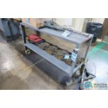 """18"""" X 60"""" X 34"""" HIGH JAMCO STEEL BENCH **DELAY REMOVAL**"""