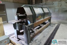 10' DUAL ROLLER CUSTOM BUILT SPIN CAST MACHINE WITH SPARE MOTOR AND PARTS (FORMERLY LOT 603A)