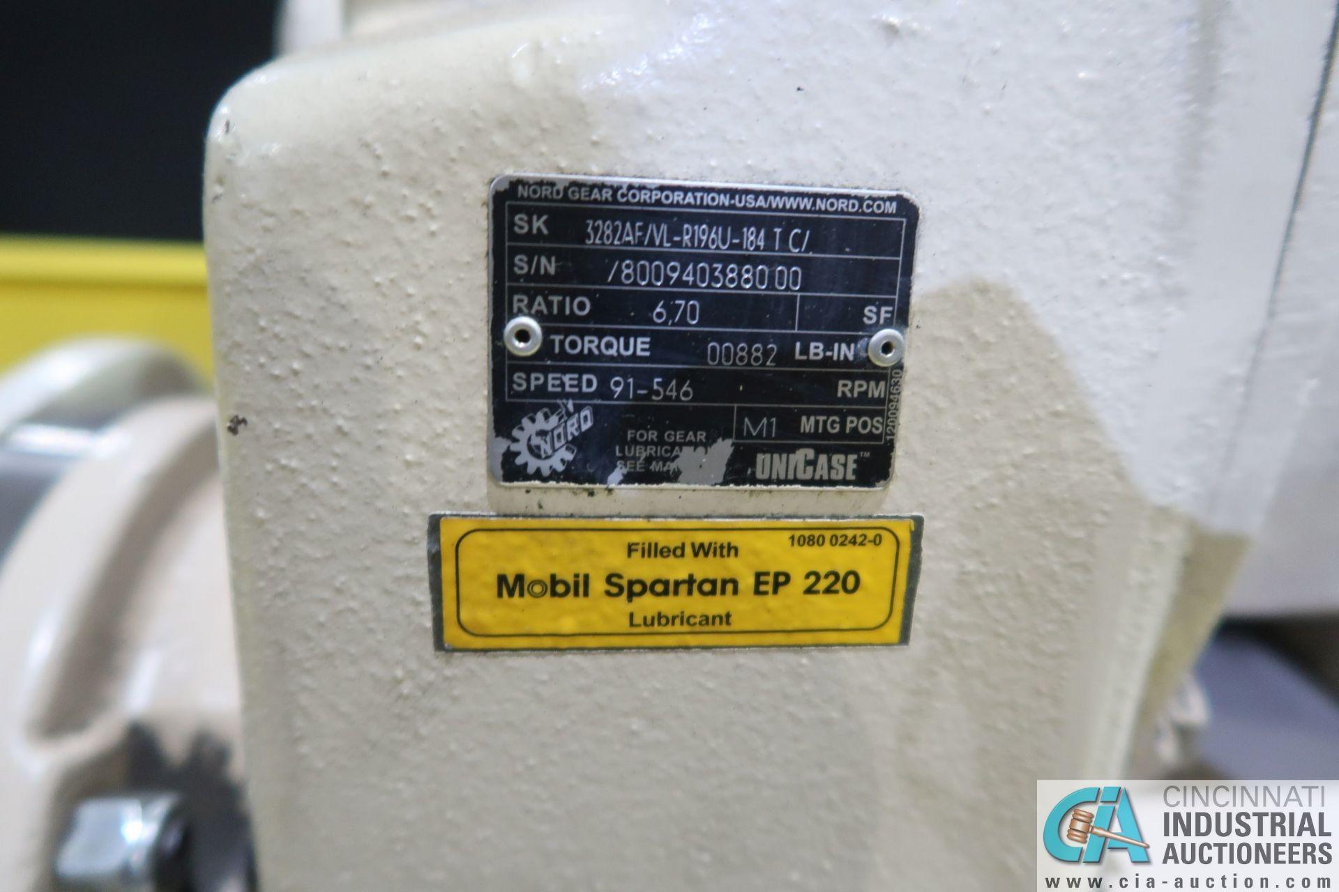 OHIO TOOL MODEL OTW-1000-5-2M PROGRAMMABLE HORIZONTAL HONE; S/N 22945, 6.5' STROKE, 5 HP DRIVE ( - Image 11 of 20