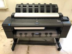 Hewlett Packard Designjet T2530 Wide Format Printer, Lightly Used (New 10/2015)