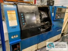 "DAEWOO MODEL 200C CNC TURNING CENTER; S/N PM200550, 10"" CHUCK, 10-STATION TURRET, TAILSTOCK, TURBO"