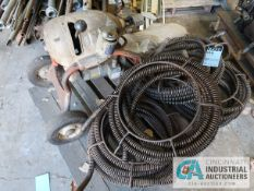 RIDGID / HELLMAN KM1500 INDUSTRIAL DRAIN SNAKE