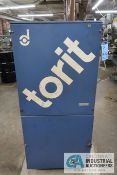 TORIT MODEL VS550 PORTABLE DUST COLLECTOR; S/N 233707, 3,600 RPM, 3 PH, 1 HP