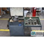 MULTI-SIZE BURNER D6 COLLET ATTACHMENT WIHT CABINET AND MISCELLANEOUS TOOLING