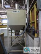 60 CU. FT. IMCS MODEL 35-5432 SURGE BIN; S/N 13479, WITH VACCUM FEEDER, EXTRA LEGS, VACUUM BOX