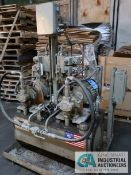DUAL 5 HP RHM FLUID POWER INC DUAL PUMP HYDRAULIC UNIT; S/N RHM-307476-2