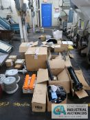 (LOT) MISCELLANEOUS PARTS AND ACCESSORIES INCLUDING VALVES, FILTERS, OIL COOLERS, VACUUM HOSE AND