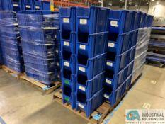 QUANTUM MODEL QCH600 STACKABLE GIANT HOPPER BINS - (2) SKIDS TOTAL