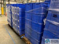 QUANTUM MODEL QGH 600 STACKABLE GIANT HOPPER BINS - (3) SKIDS TOTAL