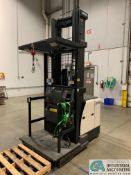 """3,000 CROWN MODEL SP-3520-30 ELECTRIC ORDER PICKER; S/N 1A343475 APPROX. 6,065 HOURS, 120"""" COLLAPSED"""