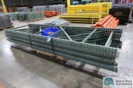 "42"" X 12' HIGH INTERACK 30 PALLET RACK UPRIGHTS"