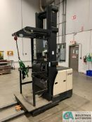 """3,000 LB. CROWN MODEL SP-3520-30 ELECTRIC ORDER PICKER; S/N 1A331750 APPROX. 3,650 HOURS, 120"""""""