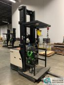 """3,000 LB. CROWN MODEL SP-3520-30 ELECTRIC ORDER PICKER; S/N 1A34214, APPROX. 6,500 HOURS, 120"""""""
