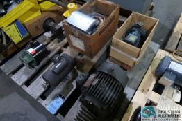 SKID MISCELLANEOUS MOTORS, PUMPS AND BLOWERS