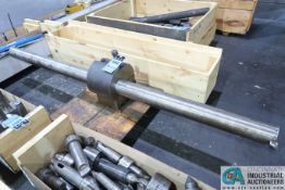 7' LONG HEAVY DUTY BORING BAR WITH HOLDER