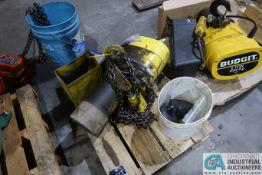 2 TON CAPACITY BUDGIT PENDENT CONTROL ELECTRIC CHAIN HOIST