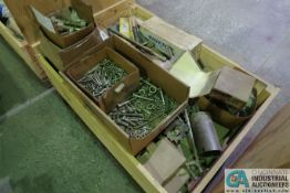 CRATE FURNACE PARTS CYLINDERS, BUSHINGS, BEARINGS, UNIONS AND OTHER RELTATED ITEMS