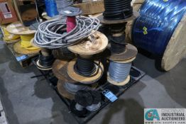 SKID MISCELLANEOUS SPOOLED WIRE