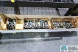 WOOD CRATE MISCELLANEOUS ENDMILLS AND INDEXABLE LATHE TOOLING