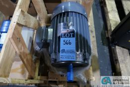 10 HP TECO-WESTINGHOUSE NEW ELECTRIC MOTOR